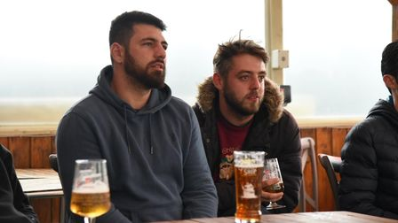 Fans headed out to Suffolk's pubs to watch England's final group game
