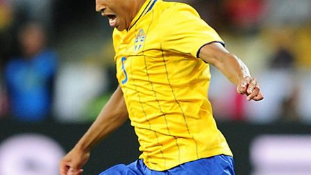 Martin Olsson helped Sweden to a 2-1 win over Denmark in Stockholm. Photo: PA Wire