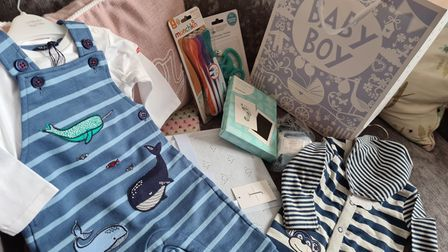 The Suffolk Baby Bank received an anonymous donation in memory of a baby boy