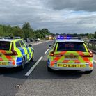 Man dies after car crashes into ditch on A11 at Six Mile Bottom.
