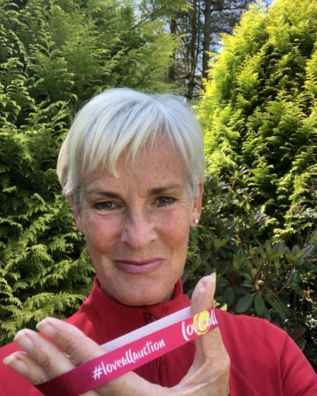 Judy Murray, mother of former Wimbledon champion Andy Murray