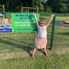 CharlotteFarnworth, five, is among the youngsters from Beetley looking forward to the new play area.