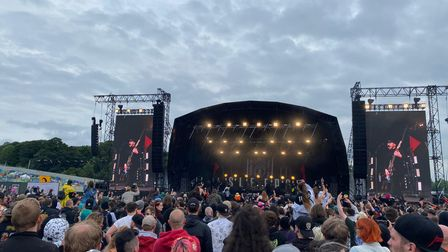 While She Sleeps performing at the Download Festival Pilot event, which took place this weekend