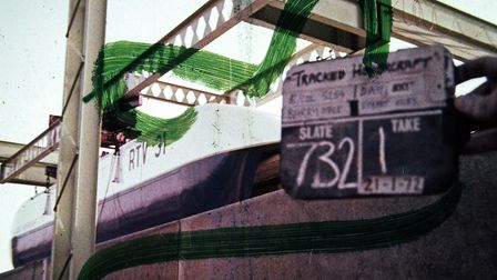 35mm film footage shot during the 1970s testing of the Hovertrain between Earith and Sutton