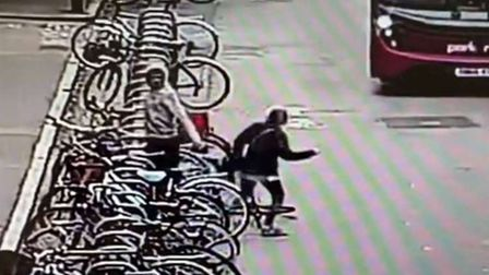 Would-be bike thief Blake Healy,of Victoria Road, Cambridge,caused a woman to almost be hit by a bus
