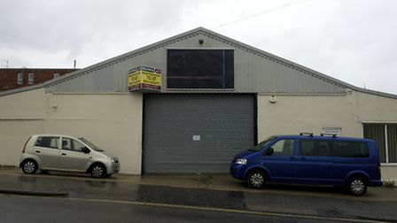 The site of the proposed QD Store on Cadogan Road in Cromer which was the former Brammalls Furniture