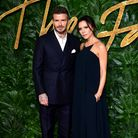 David and Victoria Beckham attending the Fashion Awards in association with Swarovski held at the Ro