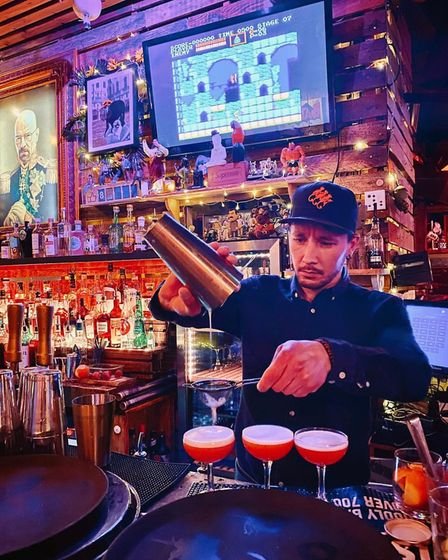 Gonzo's Tea Room in Norwich has been named among 30 of the best cocktail bars in the UK.