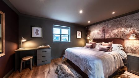 One of the Cricketers Inn's new-look bedrooms