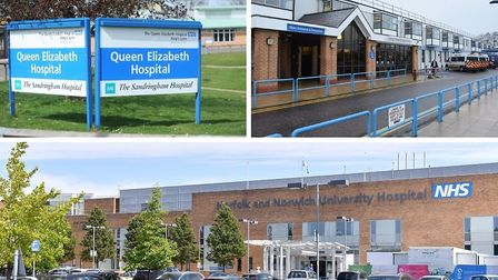 Further coronavirus deaths have been announced at the Queen Elizabeth, James Paget and Norfolk and N