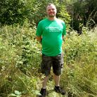 Tristan Peddie will be walking 26 miles along Marriott's Way to raise funds forSt Martins