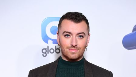 Sam Smith during the media run on day two of Capital's Jingle Bell Ball with Seat at London's O2 Are