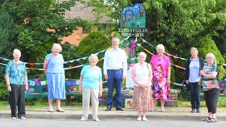 MP Steve Barclay met with members of the Tydd St Giles Women's Institute and Isle of Ely Federation president Beryl Brooks