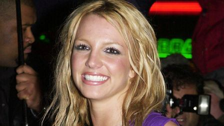 Britney Spears at the height of her pop career
