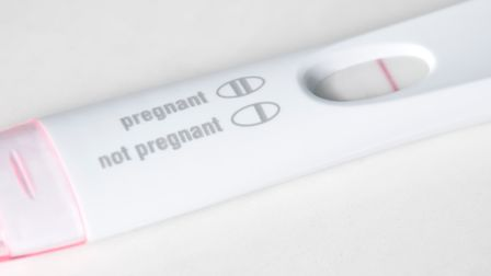 After a number of negative pregnancy results, Paul and Gemma decided to try a fertility clinic