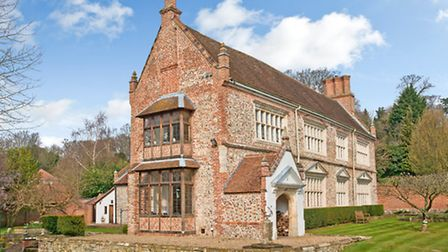 Thorpe Old Hall, the most expensive home to sell in Norfolk in September.