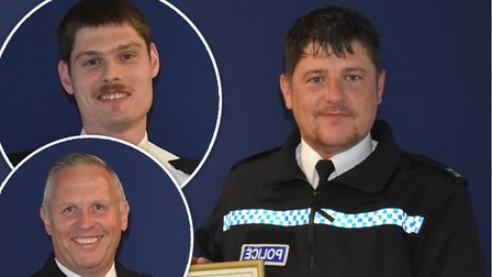 Cambridgeshire ConstabularyPCs Tom Dodge, Dave Stevens and Paul Jeyes and Police Sergeant (PS) Andy Watson