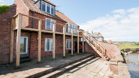 The second highest property to sell, The Malthouse, Burnham Overy Staithe