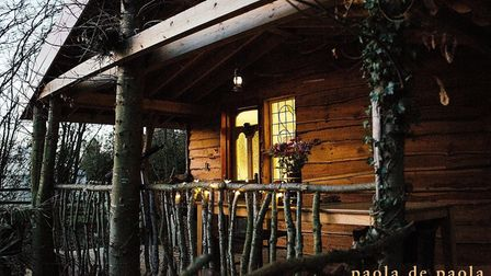 The Treehouse was designed by one of its owners and is built from reclaimed materials