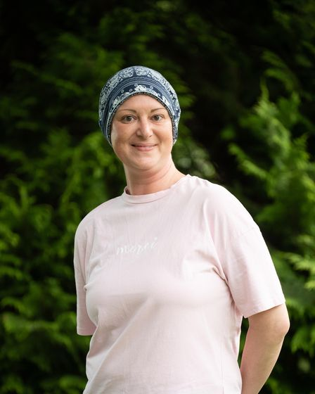 Alexis Clark, who has just finished her cancer treatment. Picture: Sarah Lucy Brown
