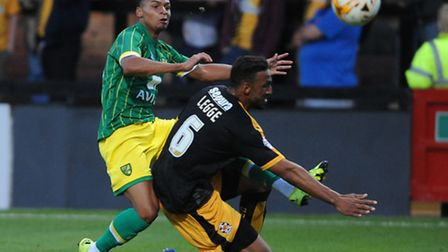 Norwich City's on-loan youngster Jacob Murphy is enjoying the pressure of a League One promotion pus