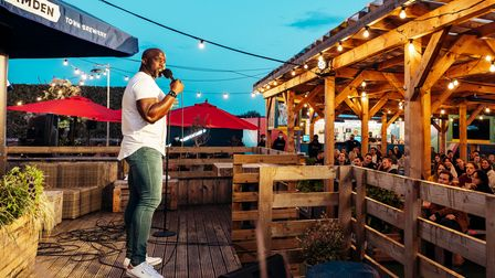 Stand-up comedy coming to Skylight's rooftop stage