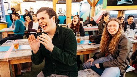 Comedy at Tobacco Dock's Skylight rooftop venue