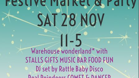Fire Pit Camp festive market and party