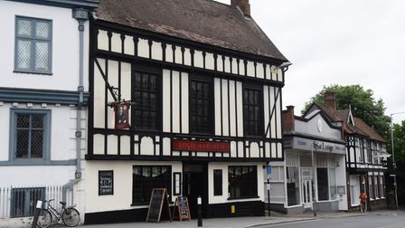 The Louis Marchesi pub re-opens as lockdown restrictions are eased for pubs and restaurants. Picture