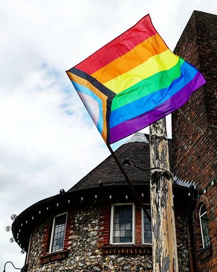 The owner of theArtichoke pubsaid they were disappointed to discover their pride flag had been torn down