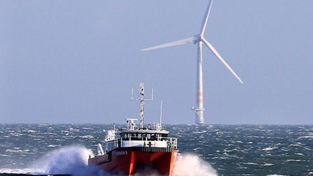 Offshore wind farm. Picture: Garry O'Neill.