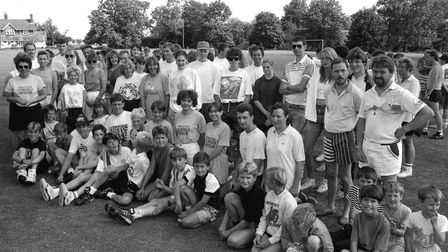 Cockfield Rounders Marathon from August 1991