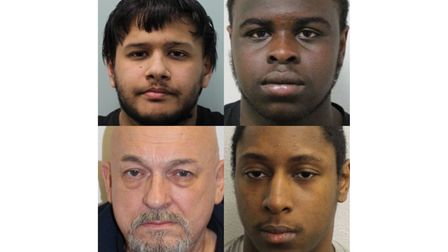 Men convicted or jailed in east London this week