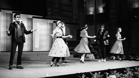 The dancing continued down the catwalk Picture: ARCHANT
