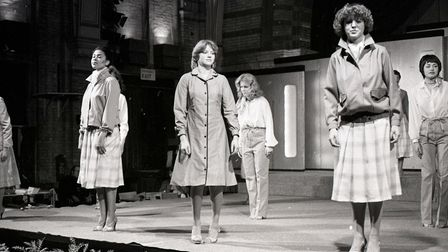 Star club fashion show in Ipswich 1979 Picture: ARCHANT