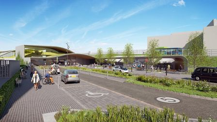 """Cambridge South station took a """"step towards reality"""" after Network Rail submitted a Transport and Works Act Order."""