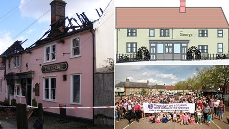 The George pub project will go before East Suffolk Council planners on Tuesday