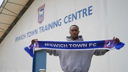 Rekeem Harper has signed a three-year deal at Ipswich Town. Photo: ITFC