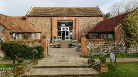 The Artisan Cafe at Alby Craft and Gardens