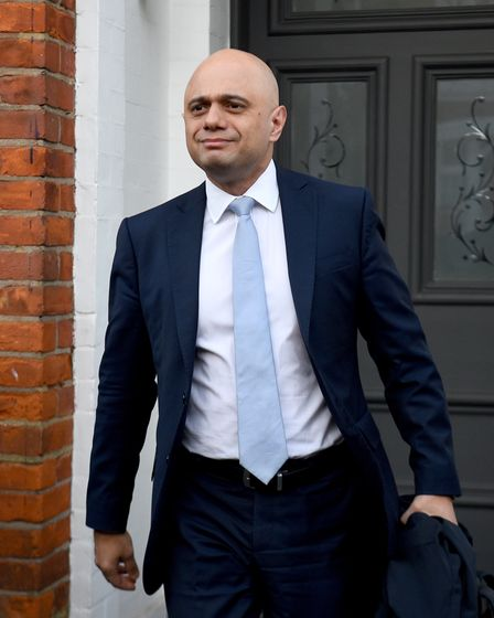 File photo dated 14/02/2020 of former chancellor of the exchequer Sajid Javid, who has been appointe