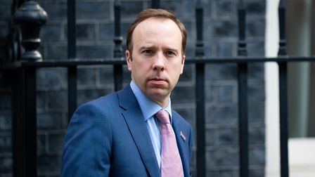 File photo dated 9/4/2020 of Matt Hancock who has resigned as Health Secretary after video footage e