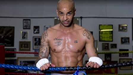 Leon McKenzie poses after a workout at Duke McKenzie Fitness Centre in Crystal Palace, London. Pictu