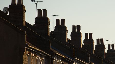 picture shows rooftops