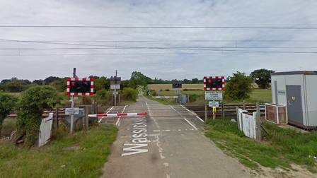 Works have been carried out at the Wassicks level crossing