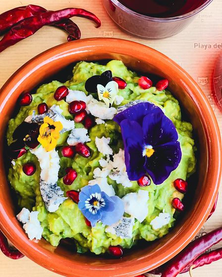 A Mexican dish by Hannah Gregory