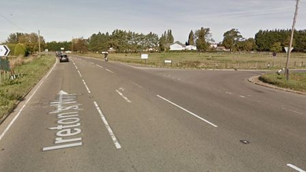 The crashhappened at the junction of Ireton's Way and Langwood Hill Drove in Chatteris
