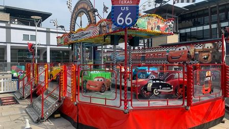 The Race-O-Rama children's ride is to be introduced at Clacton Pier