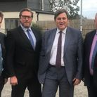MP Kit Malthouse in Cambs