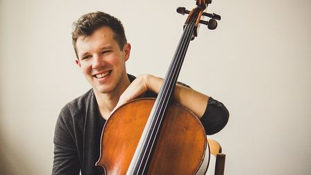 British cello star Joshua Lynch joins Ely Sinfonia at their Ely Cathedral concert on July 10.