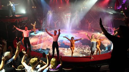 The Hippodrome Circus.Circus and Water SpectacularAugust 2015.Picture: James Bass